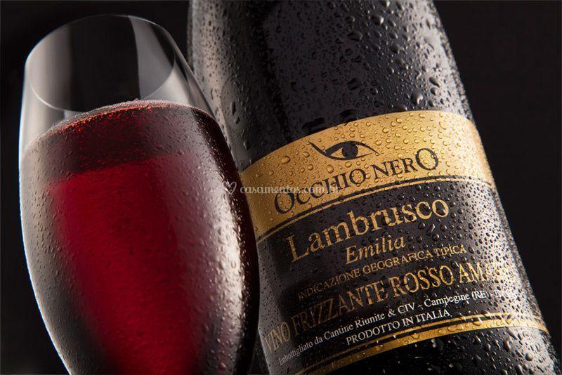 Copa Lambrusco Occhio Nero Rosso