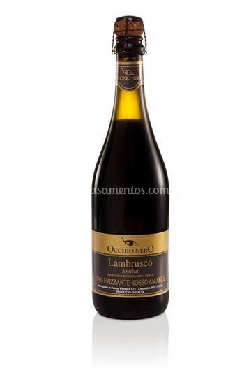 Vinho Lambrusco Occhio Nero Rosso