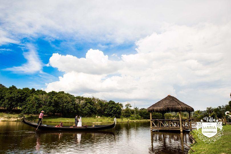 Quiosque na Lagoa