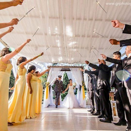 Saída da noiva