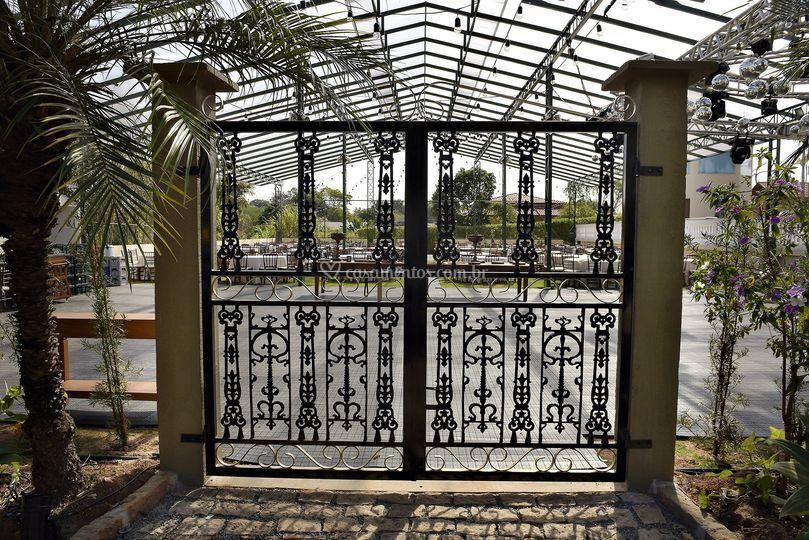 Portão para o Salão