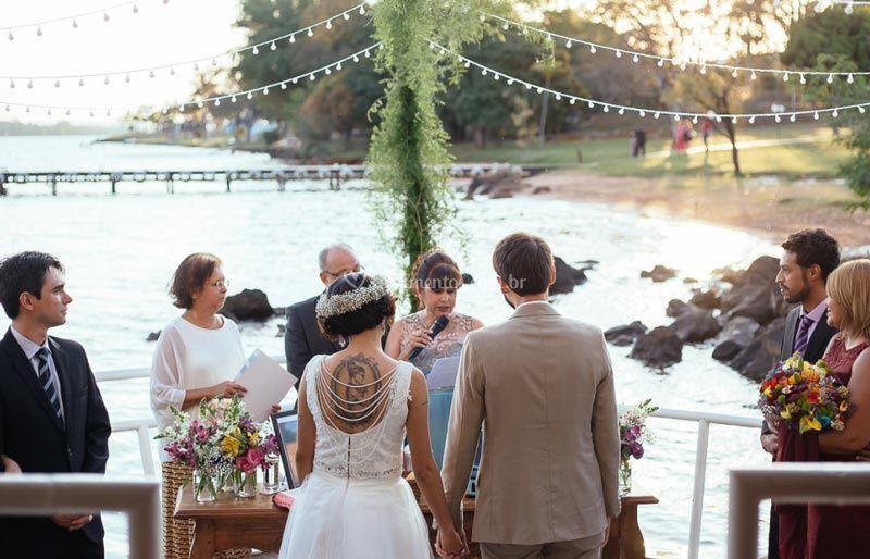 Casamento no Barco
