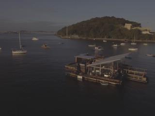 Flutuante Rio - imagem aérea