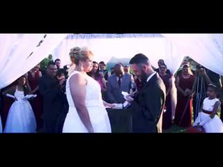 Cerimônia de casamento de Dayane e Fábio