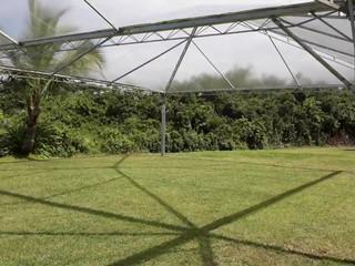 Montagem de Tendas Transparentes no Costa do Sol Praia Hotel