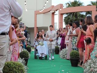 Casamento emocionante de Melissa e Rodrigo