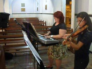 Viva la Vida Violino e Teclado Luciane Borges