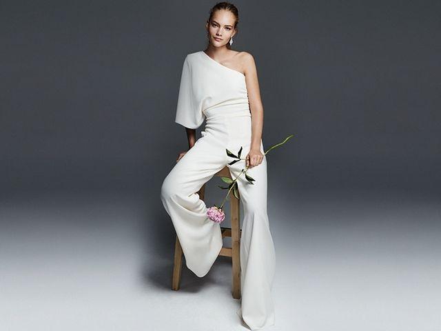 Calças para noivas: liberdade de movimentos e originalidade
