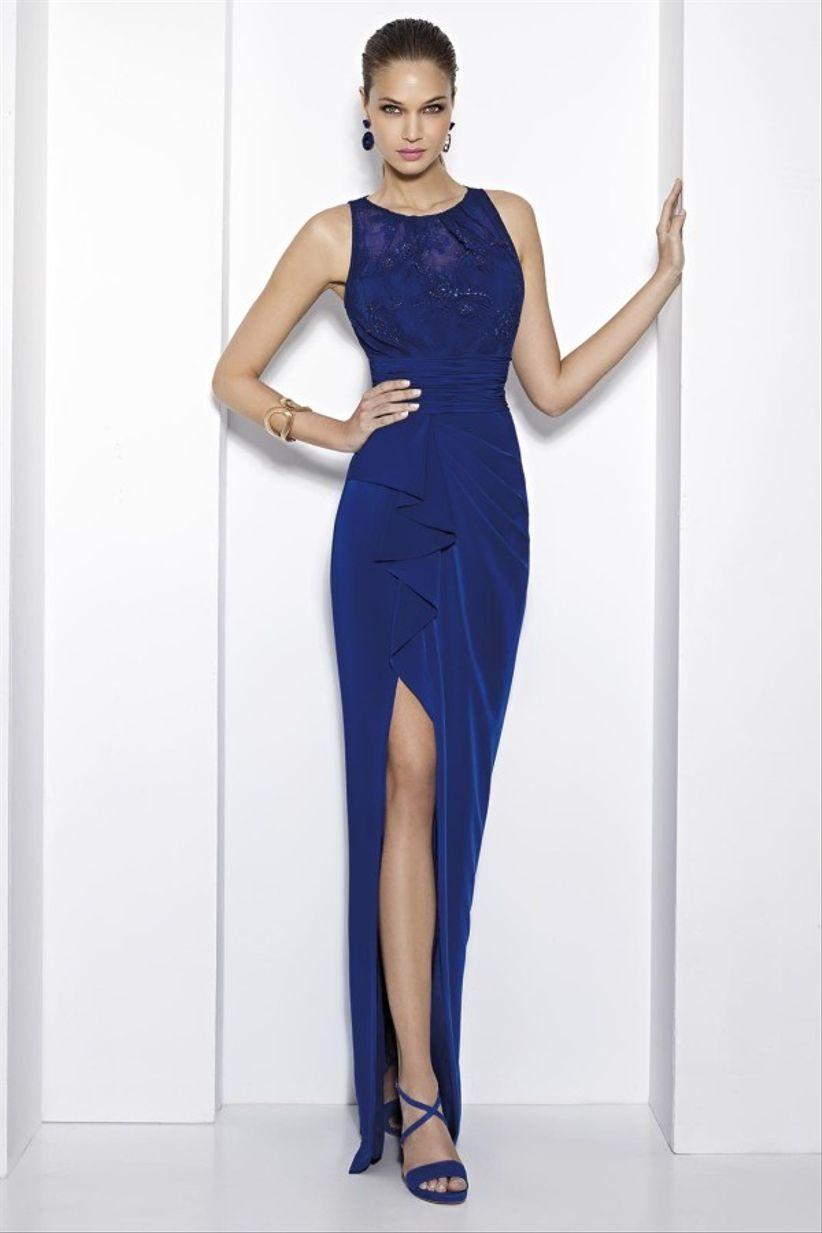 47a171c18 40 vestidos em azul para um look de convidada
