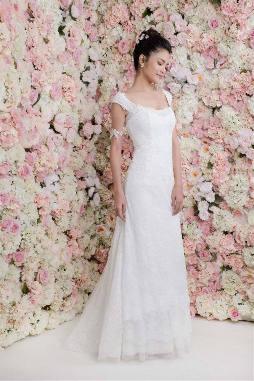 066846bb6 30 Vestidos de noiva para mulheres maiores de 40