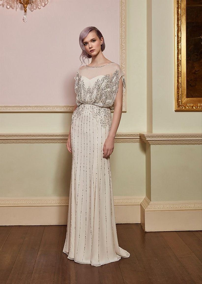 e35cda83c 60 Vestidos de noiva em corte reto  escolha o ideal para você