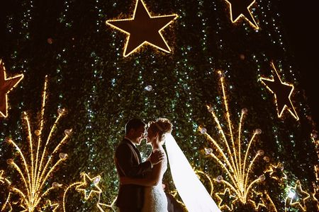 Cores para um casamento no Natal