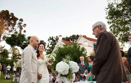 Os votos de casamento