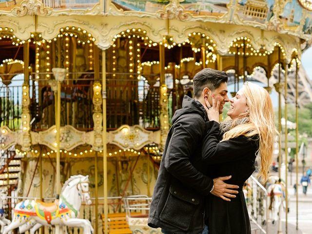A romântica Lua de mel em Paris