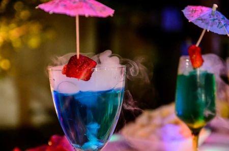 Calcule a quantidade de bebida necess�ria para o open bar