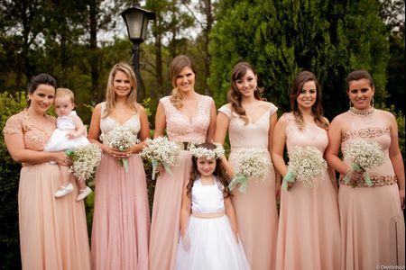 Tips para escolher o vestido perfeito para as suas madrinhas