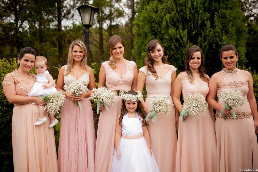 Vestido de casamento de Marina Ruy Barbosa e de algumas