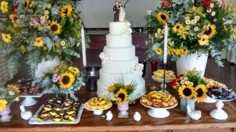 Ideias para usar girassóis no casamentoé a chegada da primavera! -> Decoração De Girassol Para Aniversario