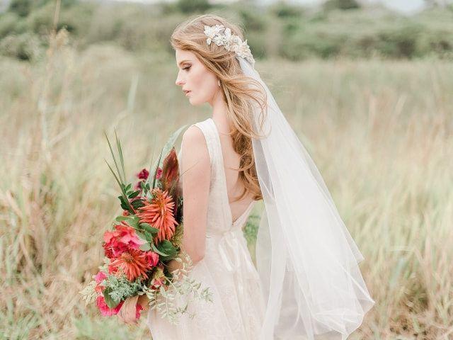 Diferenças entre o véu e a mantilha das noivas