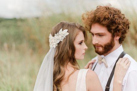 O penteado ideal para cada tipo de véu: inspire-se com 45 imagens