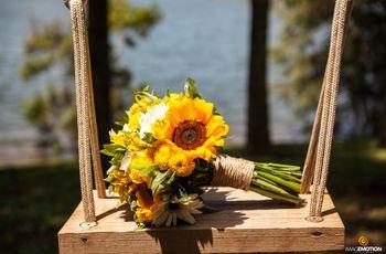 35 Buquês de flores amarelos para alegrar seu grande dia