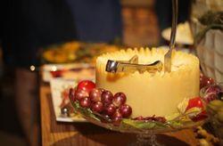 Ilha de queijos para seu casamento