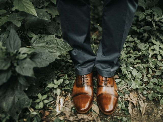 5 Estilos de sapatos originais para o noivo