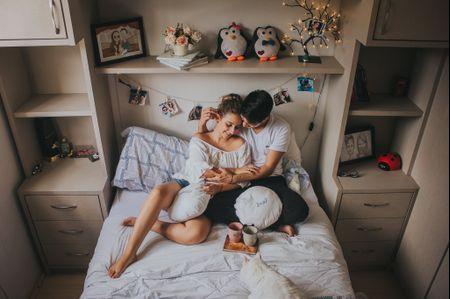 Vantagens de fazer o ensaio pré-casamento em casa