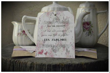 Quando entregar o convite do chá de panela?
