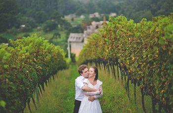 """Casamento em vinícolas: o """"sim"""" em um cenário de cinema"""