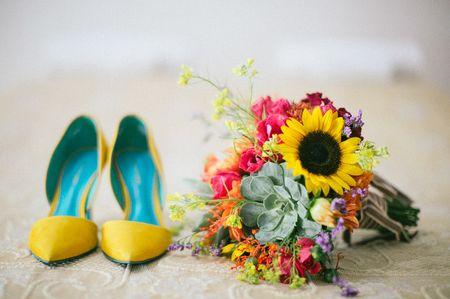 25 Sapatos de noiva amarelos para todos os estilos