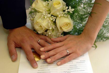 Burocracia do casamento civil