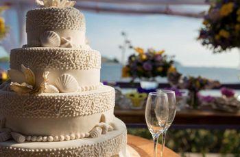 Bolos de casamento inspirados na praia: vejam os diferentes estilos