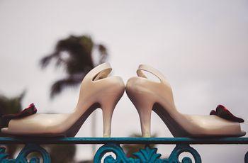 Como escolher o sapato de noiva ideal