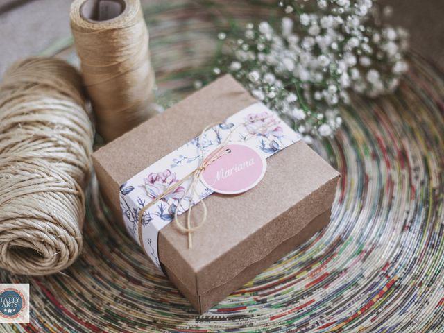 Ideias para a caixinha de recordações dos noivos