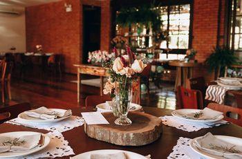 Os marcadores de mesas ideais para cada tipo casamento