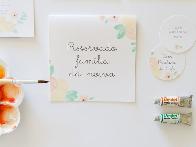 Convites de casamento com aquarela: arte para o dia C