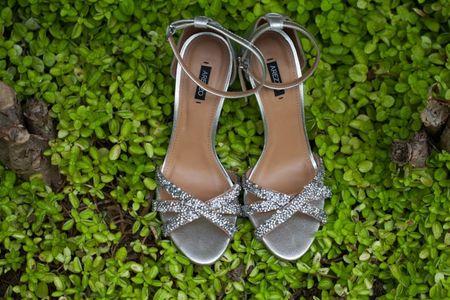 Sapatos prateados para noivas: aposte neste tom