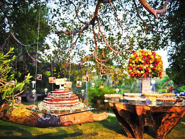 Ideias para decorar as árvores no seu casamento
