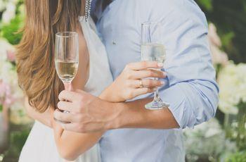 Quem faz o discurso e o brinde no casamento