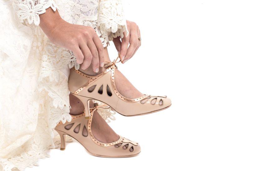 10f312364 Como escolher o sapato de noiva ideal