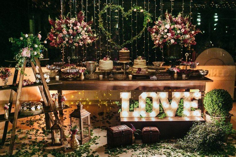 Como Montar Um Casamento Rústico Em Um Local Fechado