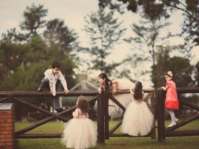 Cobertura fotográfica do casamento com os seus filhos