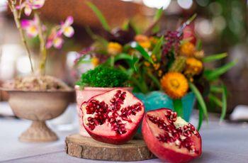 4 Formas diferentes de servir frutas no seu casamento