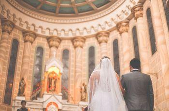 Os decotes das noivas nas cerimônias religiosas
