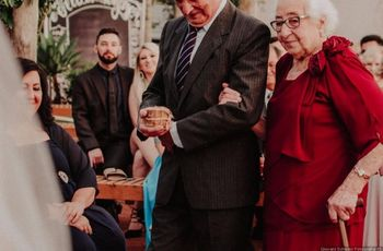 Como mimar os avós durante a festa do casamento?