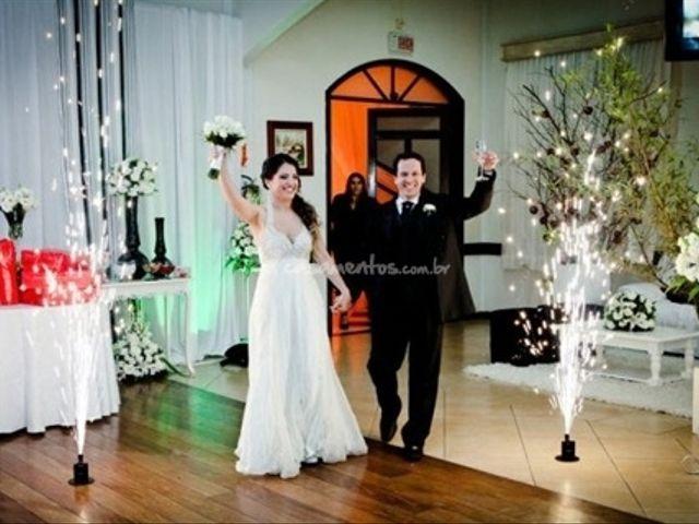 O primeiro encontro dos noivos
