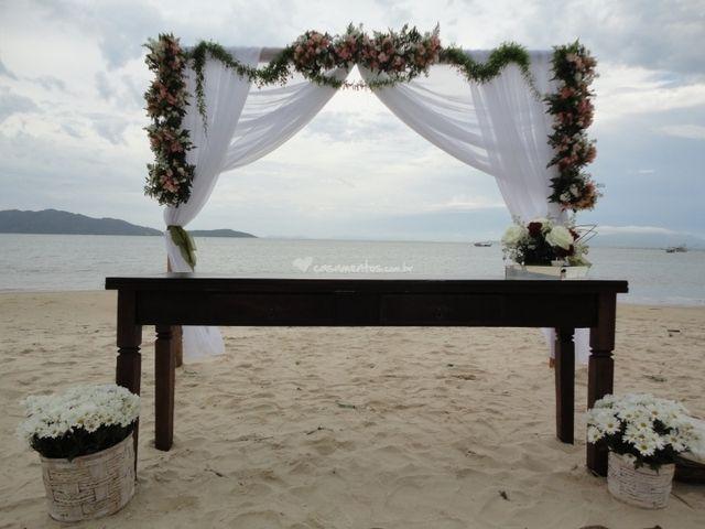 Romantismo à beira-mar