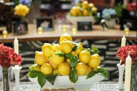 Bodas de Flores e Frutas: 4 anos juntos