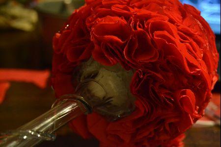 Topiaria de flores para seu casamento